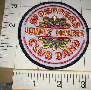 THE BEATLES SGT. PEPPERS LONELY HEARTS CLUB BAND ALBUM MUSIC PATCH