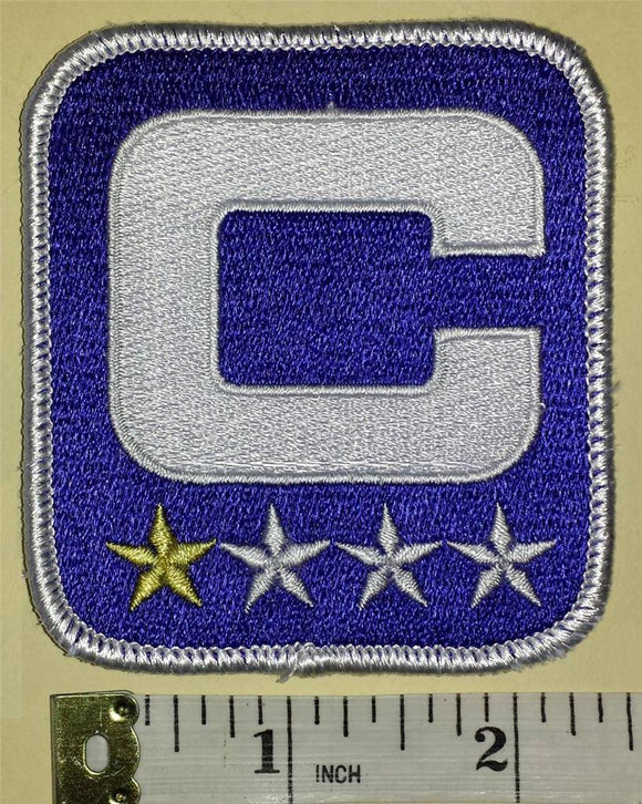 BUFFALO BILLS NFL FOOTBALL CAPTAIN 1 STAR * PATCH