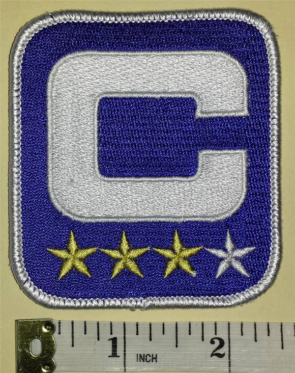 BUFFALO BILLS NFL FOOTBALL CAPTAIN 3 STARS ** PATCH