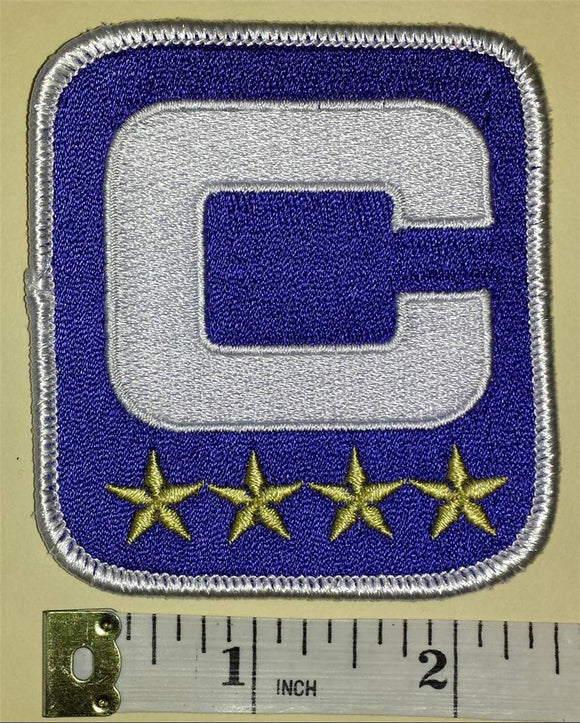 BUFFALO BILLS NFL FOOTBALL CAPTAIN 4 STARS ** PATCH