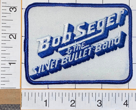 BOB SEGER & THE SILVER BULLET BAND AMERICAN ROCK MUSIC ARTIST BAND CONCERT PATCH