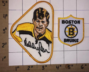 BOBBY ORR BOSTON BRUINS SIGNATURE FACE EMBLEM NHL HOCKEY CREST PATCH