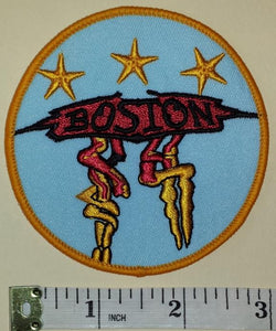 BOSTON AMERICAN ROCK MUSIC CONCERT ALBUM PATCH