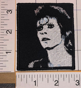 1 DAVID BOWIE ALADDIN SANE PORTRAIT CONCERT ALBUM MUSIC CREST PATCH