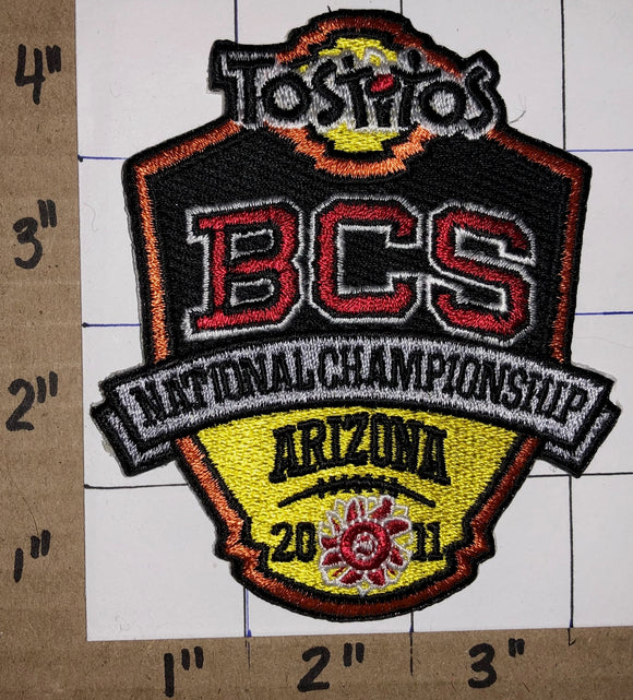 2011 TOSTITOS BOWL BCS NCAA COLLEGE FOOTBALL ARIZONA NATIONAL CHAMPIONSHIP PATCH