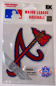 1 MIP ATLANTA BRAVES MLB BASEBALL CREST PATCH MINT IN PACKAGE