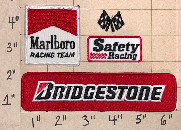 BRIDGESTONE RACING TIRE & RUBBER COMPANY CREST EMBLEM TIRES PATCH LOT