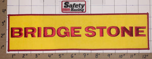 2 BRIDGESTONE SAFETY RACING TIRE & RUBBER COMPANY AUTO TRUCK  EMBLEM PATCH LOT