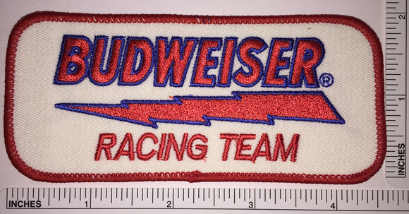 1 BUDWEISER RACING TEAM BEER BREWERY ANHEISER-BUSCH CREST EMBLEM PATCH