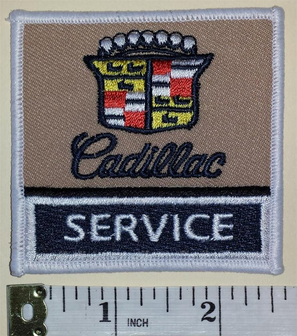 1 CADILLAC SERVICE LUXURY VEHICLES AMERICAN AUTOMOTIVE GM LUXURY EMBLEM PATCH