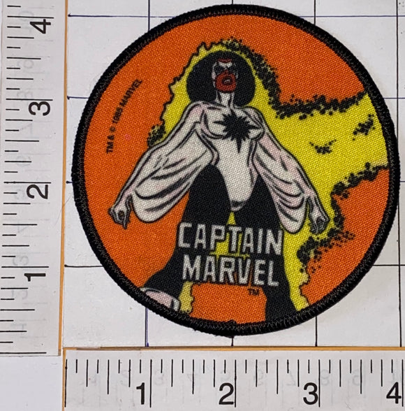 1 RARE 1985 CAPTAIN MARVEL ALPHA FLIGHT SUPER HERO MARVEL COMICS EMBLEM PATCH