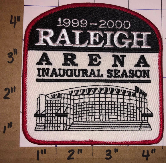 1 CAROLINA HURRICANES NHL HOCKEY INAUGURAL SEASON RALEIGH ARENA EMBLEM PATCH