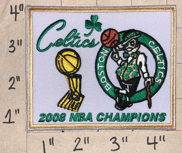 2008 BOSTON CELTICS NBA BASKETBALL CHAMPIONS CREST EMBLEM PATCH