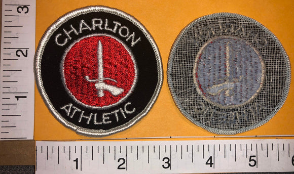 1 VINTAGE CHARLTON ATHLETIC F.C. FOOTBALL LEAGUE ONE ENGLAND BADGE CREST