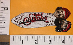 CHEECH & CHONG UP IN SMOKE THE MOVIE MARIJUANA JOINT CREST EMBLEM PATCH