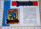 DARKSEID SUPERVILLAIN DC UNIVERSE COMICS SUPERMAN WILLABEE & WARD PATCH