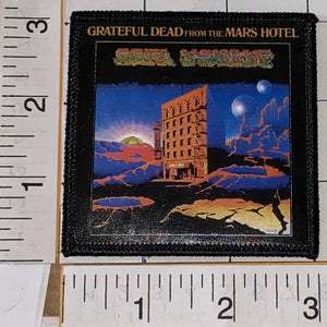 GRATEFUL DEAD FROM THE MARS HOTEL JERRY GARCIA MUSIC CONCERT ALBUM PATCH