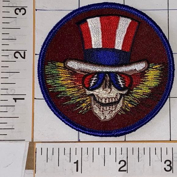 UNCLE SAM GRATEFUL DEAD SKELETON 3