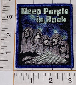 DEEP PURPLE IN ROCK ENGLISH GILLAN BLACKMORE HARD ROCK MUSIC BAND CONCERT PATCH
