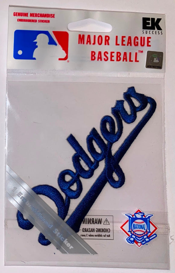 1 MIP LOS ANGELES DODGERS MLB BASEBALL CREST PATCH MINT IN PACKAGE