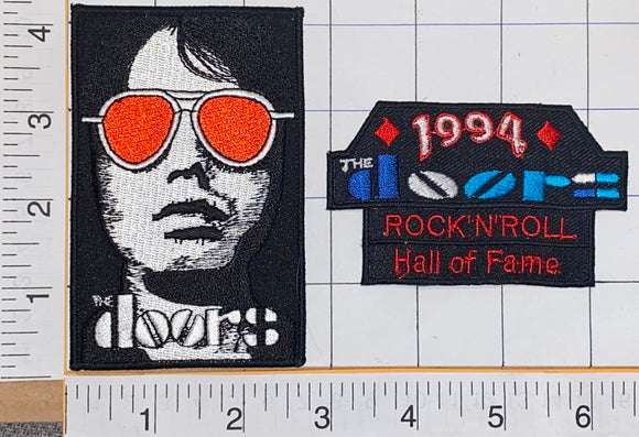 1994 THE DOORS ROCK 'N' ROLL HALL OF FAME JIM MORISSON CREST PATCH LOT