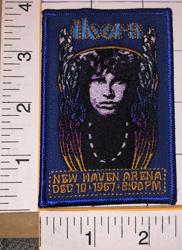 THE DOORS JIM MORRISON NEW HAVEN ARENA 1967 ROCK MUSIC CONCERT PATCH