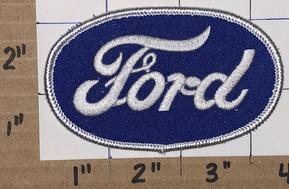 1 FORD OVAL LINCOLN MERCURY F-SERIES AUTOMOBILE CAR AMERICAN CREST EMBLEM PATCH