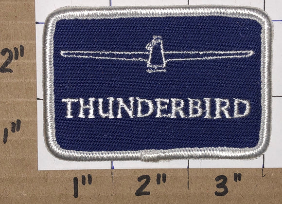 1 FORD THUNDERBIRD T-BIRD LUXURY CAR AUTOMOBILE UPSCALE AMERICAN EMBLEM PATCH