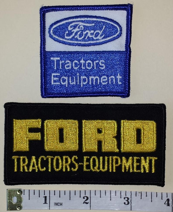 2 FORD TRACTORS EQUIPMENT NEW HOLLAND AGRICULTURE TRACTORS HARVESTER PATCH LOT