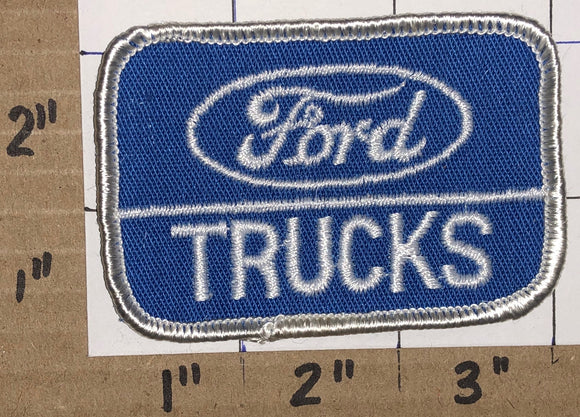 1 FORD TRUCKS F-150 F-SERIES F1 RANGER AMERICAN MADE BLUE CREST EMBLEM PATCH