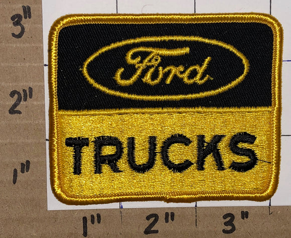 1 FORD TRUCKS F-150 F-SERIES F1 RANGER AMERICAN MADE CREST EMBLEM PATCH