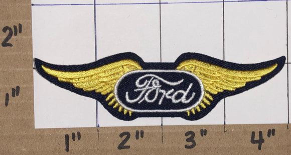 1 FORD WING LINCOLN MERCURY AUTOMOBILE CAR AMERICAN CREST EMBLEM PATCH