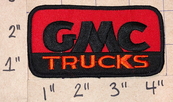 1 GMC TRUCKS HEAVY DUTY BULIT TOUGH CREST EMBLEM PATCH