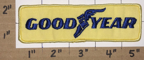 1 GOODYEAR YELLOW TIRE RUBBER COMPANY #1 IN TIRES CREST EMBLEM PATCH LOT