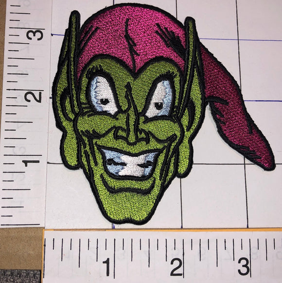 GREEN GOBLIN MARVEL COMICS SUPERVILLAIN SPIDER MAN ARCHENEMY CREST PATCH