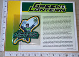 GREEN LANTERN SUPERHERO DC UNIVERSE COMICS GOTHAM CITY WILLABEE & WARD PATCH