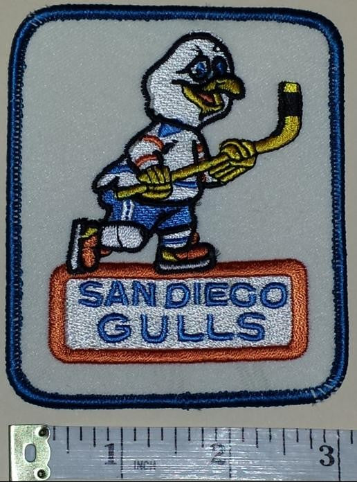 SAN DIEGO GULLS AHL HOCKEY AFFILIATE ANAHEIM DUCKS LEAGUE CREST PATCH