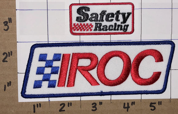 IROC FORMULA 1 AUTO SAFETY RACING GRAND PRIX RACE OF CHAMPIONS EMBLEM PATCH LOT