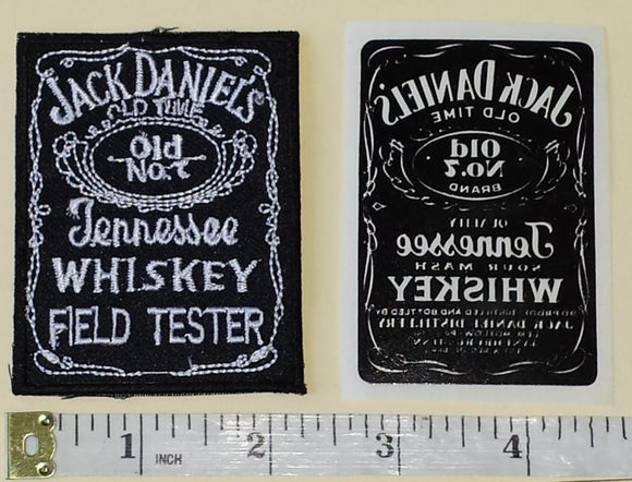 JACK DANIELS TENNESSEE WHISKEY OLD TIMER AMERICAN DISTILLER CREST EMBLEM PATCH