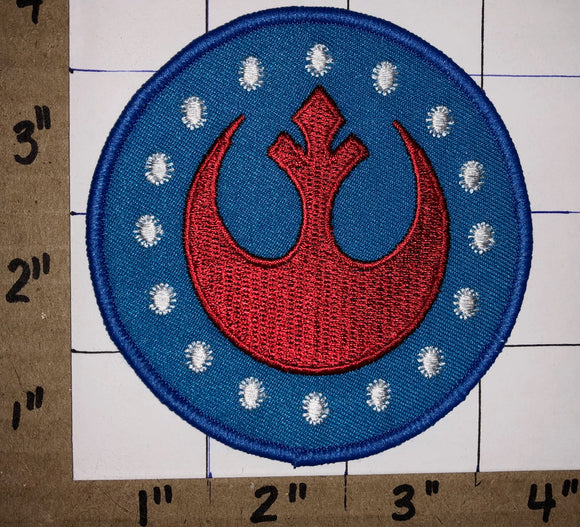 STAR WARS REBEL ALLIANCE  SQUADRON JEDI EMBROIDERED CREST PATCH