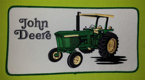 1 HUGE JOHN DEERE AGRICULTURE FARMING TRACTORS FORESTRY MACHINERY PATCH