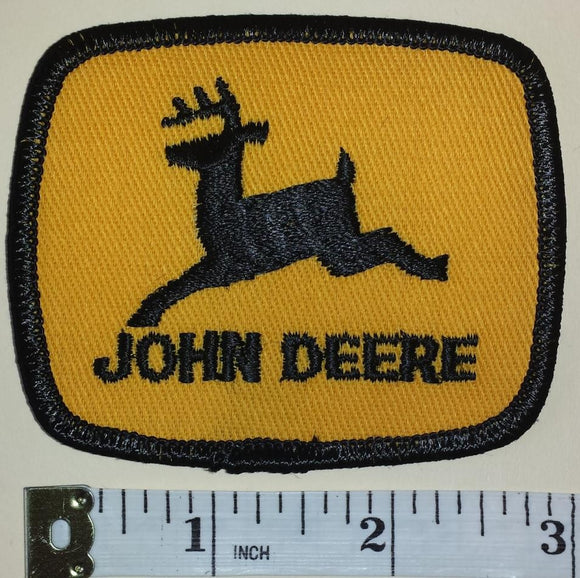1 JOHN DEERE TRACTOR WHEEL AGRICULTURE FARMING FORESTRY MACHINERY PATCH