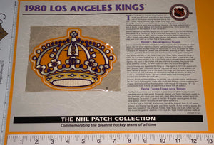 1 OFFICIAL 1980 LOS ANGELES KINGS NHL HOCKEY WILLABEE & WARD PATCH MIP