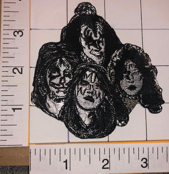 KISS ARMY ALBUM SIMMONS STANLEY CRISS FREHLEY HARD ROCK MUSIC CREST EMBLEM PATCH