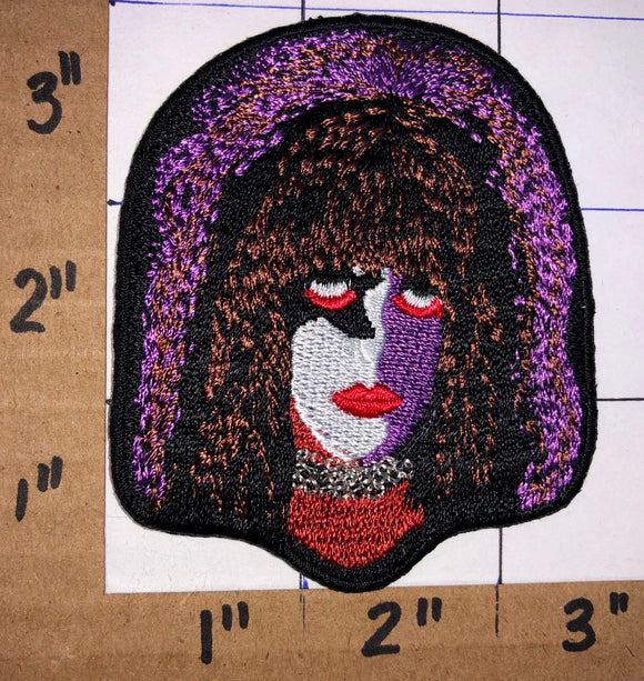 KISS PAUL STANLEY HARD ROCK CONCERT MUSIC BAND CREST EMBLEM PATCH