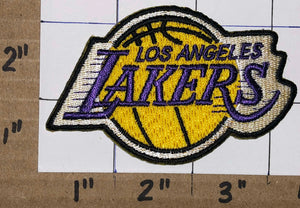 "LOS ANGELES LAKERS 3"" NBA BASKETBALL CREST EMBLEM PATCH"
