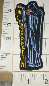 1 LED ZEPPELIN STAIRWAY TO HEAVEN THE HERMIT LANTERN MUSIC ROCK PATCH