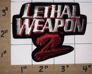 1989 LETHAL WEAPON 2 MOVIE JOE PESCI GIBSON GLOVER CREST EMBELM PATCH