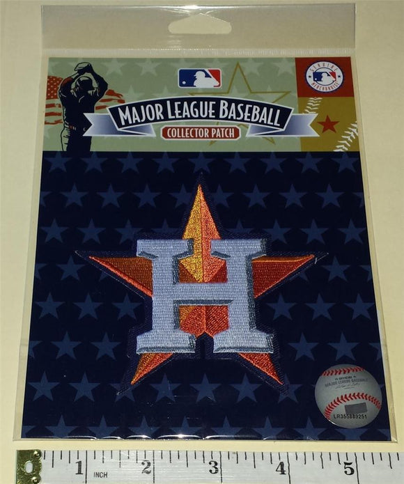 OFFICIAL HOUSTON ASTROS MLB BASEBALL AUTHENTIC EMBLEM CREST PATCH MIP
