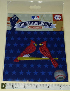 1 ST. LOUIS CARDINALS OFFICIAL MLB BASEBALL AUTHENTIC EMBLEM CREST PATCH MIP